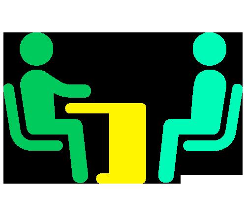 agencia de reclutamiento cualificando sus candidatos haciendo test técnicos